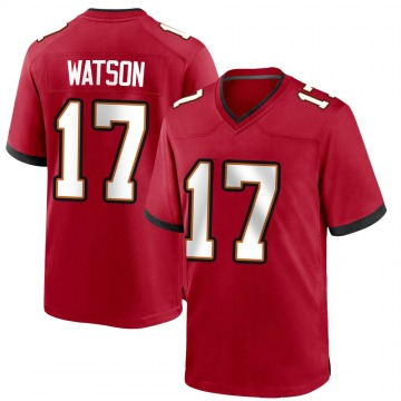 Youth Nike Tampa Bay Buccaneers Justin Watson Red Team Color Jersey - Game
