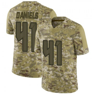 Youth Nike Tampa Bay Buccaneers Kahzin Daniels Camo 2018 Salute to Service Jersey - Limited