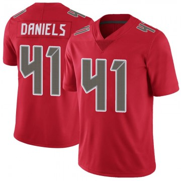 Youth Nike Tampa Bay Buccaneers Kahzin Daniels Red Color Rush Jersey - Limited