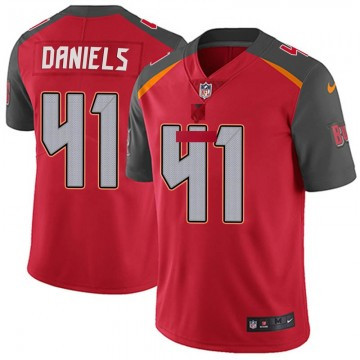 Youth Nike Tampa Bay Buccaneers Kahzin Daniels Red Team Color Vapor Untouchable Jersey - Limited