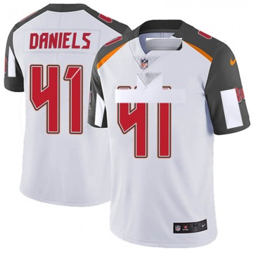 Youth Nike Tampa Bay Buccaneers Kahzin Daniels White Vapor Untouchable Jersey - Limited