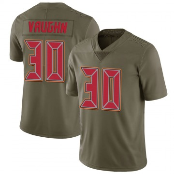 Youth Nike Tampa Bay Buccaneers Ke'Shawn Vaughn Green 2017 Salute to Service Jersey - Limited