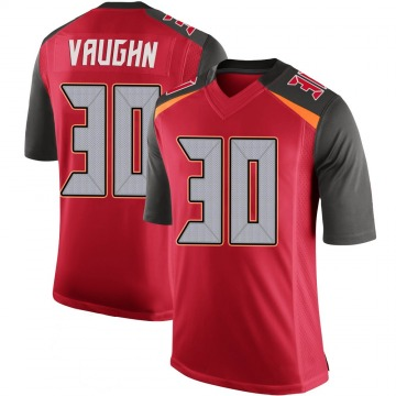 Youth Nike Tampa Bay Buccaneers Ke'Shawn Vaughn Red 100th Vapor Jersey - Limited
