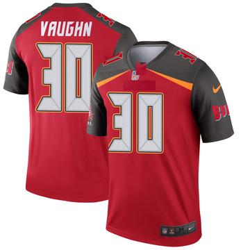 Youth Nike Tampa Bay Buccaneers Ke'Shawn Vaughn Red Jersey - Legend