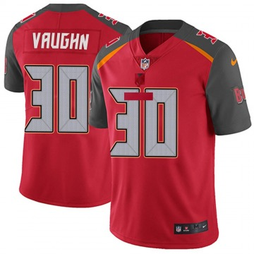 Youth Nike Tampa Bay Buccaneers Ke'Shawn Vaughn Red Team Color Vapor Untouchable Jersey - Limited