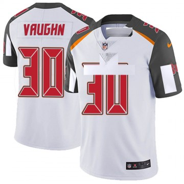 Youth Nike Tampa Bay Buccaneers Ke'Shawn Vaughn White Vapor Untouchable Jersey - Limited