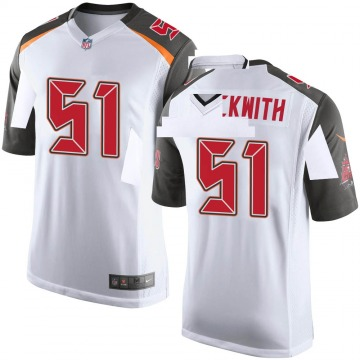 Youth Nike Tampa Bay Buccaneers Kendell Beckwith White Jersey - Game
