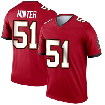 Youth Nike Tampa Bay Buccaneers Kevin Minter Red Jersey - Legend