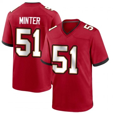 Youth Nike Tampa Bay Buccaneers Kevin Minter Red Team Color Jersey - Game