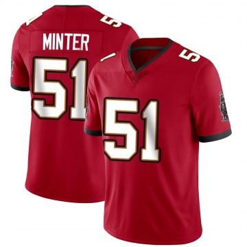 Youth Nike Tampa Bay Buccaneers Kevin Minter Red Team Color Vapor Untouchable Jersey - Limited