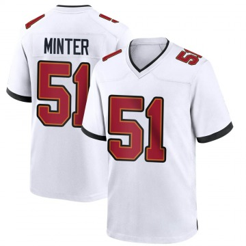 Youth Nike Tampa Bay Buccaneers Kevin Minter White Jersey - Game