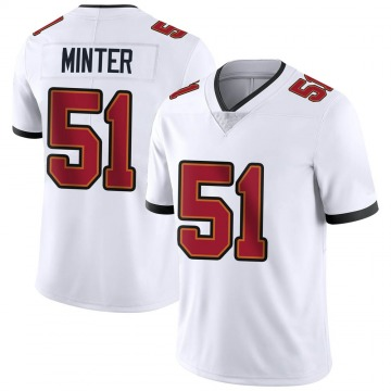 Youth Nike Tampa Bay Buccaneers Kevin Minter White Vapor Untouchable Jersey - Limited