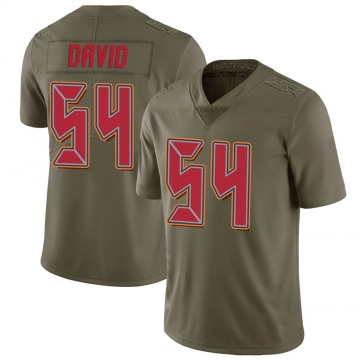 Youth Nike Tampa Bay Buccaneers Lavonte David Green 2017 Salute to Service Jersey - Limited