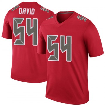 Youth Nike Tampa Bay Buccaneers Lavonte David Red Color Rush Jersey - Legend
