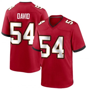 Youth Nike Tampa Bay Buccaneers Lavonte David Red Team Color Jersey - Game