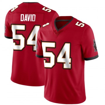 Youth Nike Tampa Bay Buccaneers Lavonte David Red Team Color Vapor Untouchable Jersey - Limited