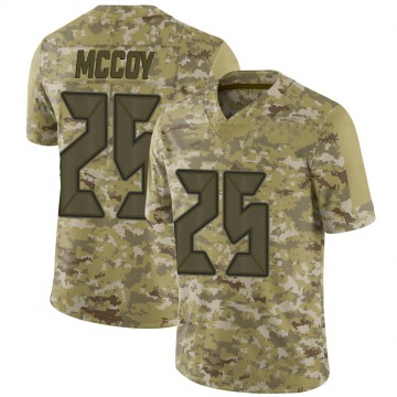 Youth Nike Tampa Bay Buccaneers LeSean McCoy Camo 2018 Salute to Service Jersey - Limited
