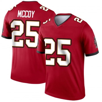 Youth Nike Tampa Bay Buccaneers LeSean McCoy Red Jersey - Legend