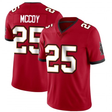 Youth Nike Tampa Bay Buccaneers LeSean McCoy Red Team Color Vapor Untouchable Jersey - Limited