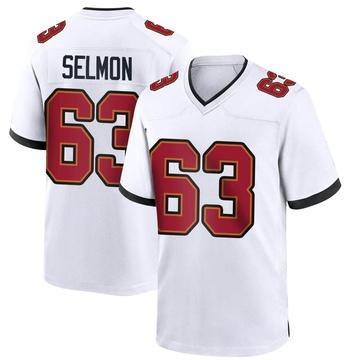 Youth Nike Tampa Bay Buccaneers Lee Roy Selmon White Jersey - Game