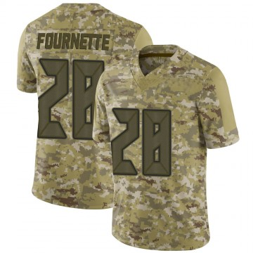 Youth Nike Tampa Bay Buccaneers Leonard Fournette Camo 2018 Salute to Service Jersey - Limited