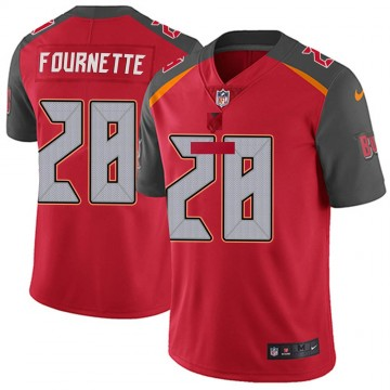 Youth Nike Tampa Bay Buccaneers Leonard Fournette Red Team Color Vapor Untouchable Jersey - Limited