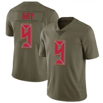 Youth Nike Tampa Bay Buccaneers Matt Gay Green 2017 Salute to Service Jersey - Limited