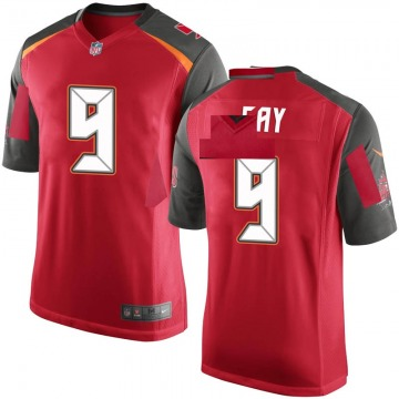 Youth Nike Tampa Bay Buccaneers Matt Gay Red Team Color Jersey - Game