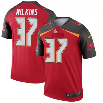 Youth Nike Tampa Bay Buccaneers Mazzi Wilkins Red Jersey - Legend