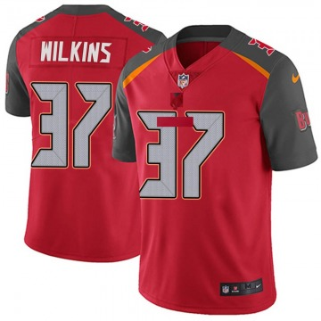Youth Nike Tampa Bay Buccaneers Mazzi Wilkins Red Team Color Vapor Untouchable Jersey - Limited