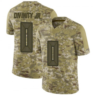 Youth Nike Tampa Bay Buccaneers Michael Divinity Jr. Camo 2018 Salute to Service Jersey - Limited