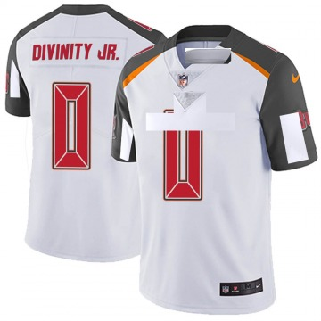 Youth Nike Tampa Bay Buccaneers Michael Divinity Jr. White Vapor Untouchable Jersey - Limited
