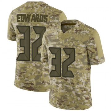 Youth Nike Tampa Bay Buccaneers Mike Edwards Camo 2018 Salute to Service Jersey - Limited