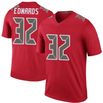 Youth Nike Tampa Bay Buccaneers Mike Edwards Red Color Rush Jersey - Legend