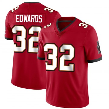 Youth Nike Tampa Bay Buccaneers Mike Edwards Red Team Color Vapor Untouchable Jersey - Limited