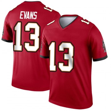Youth Nike Tampa Bay Buccaneers Mike Evans Red Jersey - Legend