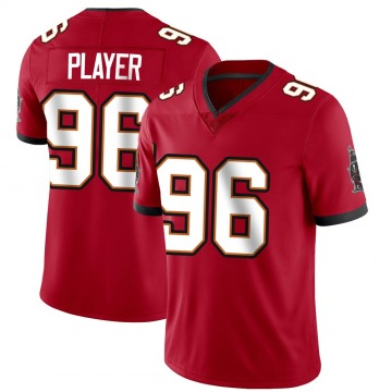 Youth Nike Tampa Bay Buccaneers Nasir Player Red Team Color Vapor Untouchable Jersey - Limited