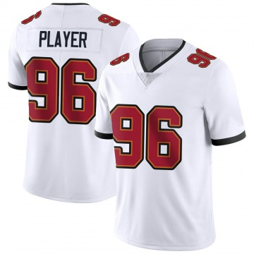 Youth Nike Tampa Bay Buccaneers Nasir Player White Vapor Untouchable Jersey - Limited