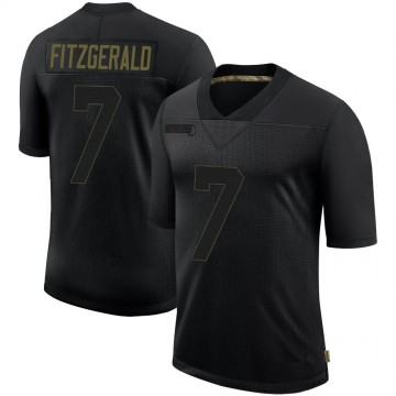 Youth Nike Tampa Bay Buccaneers Nick Fitzgerald Black 2020 Salute To Service Jersey - Limited