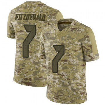 Youth Nike Tampa Bay Buccaneers Nick Fitzgerald Camo 2018 Salute to Service Jersey - Limited