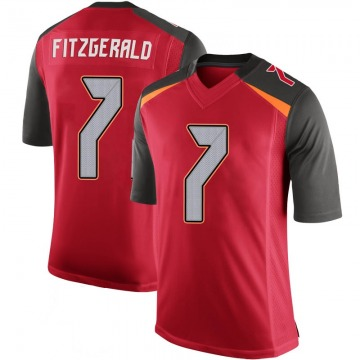Youth Nike Tampa Bay Buccaneers Nick Fitzgerald Red 100th Vapor Jersey - Limited