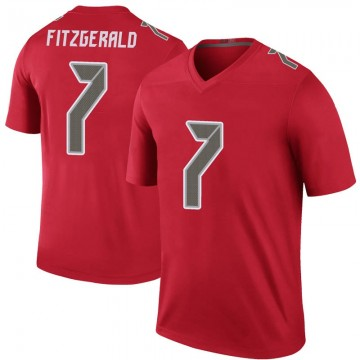 Youth Nike Tampa Bay Buccaneers Nick Fitzgerald Red Color Rush Jersey - Legend