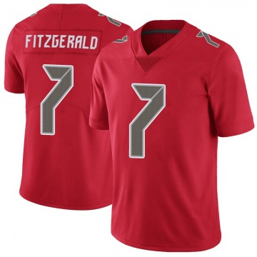 Youth Nike Tampa Bay Buccaneers Nick Fitzgerald Red Color Rush Jersey - Limited