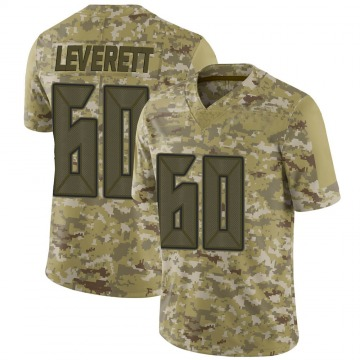 Youth Nike Tampa Bay Buccaneers Nick Leverett Camo 2018 Salute to Service Jersey - Limited