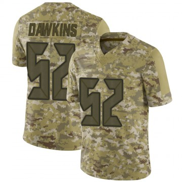Youth Nike Tampa Bay Buccaneers Noah Dawkins Camo 2018 Salute to Service Jersey - Limited