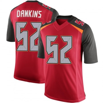 Youth Nike Tampa Bay Buccaneers Noah Dawkins Red 100th Vapor Jersey - Limited