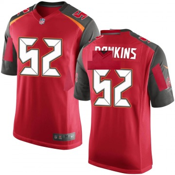 Youth Nike Tampa Bay Buccaneers Noah Dawkins Red Team Color Jersey - Game