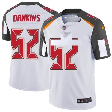 Youth Nike Tampa Bay Buccaneers Noah Dawkins White Vapor Untouchable Jersey - Limited