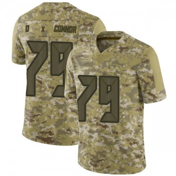 Youth Nike Tampa Bay Buccaneers Patrick O'Connor Camo 2018 Salute to Service Jersey - Limited