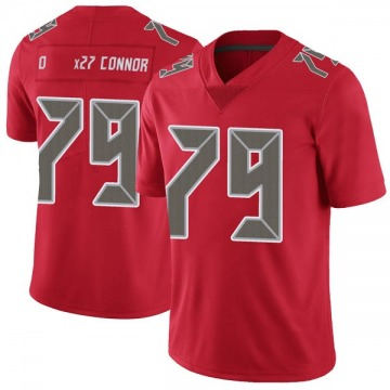 Youth Nike Tampa Bay Buccaneers Patrick O'Connor Red Color Rush Jersey - Limited